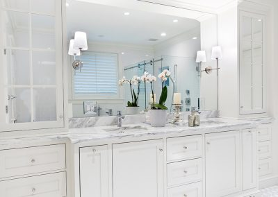 Bathroom Design by Classic Kitchen. Photo by Dan Cutrona.